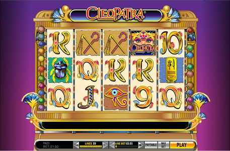 cleopatra slots for free play